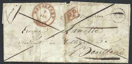 L Càd ROCHEFORT/1848 + P.P + Boîte Rurale AD De Tellin Pour Bouillon - 1830-1849 (Onafhankelijk België)