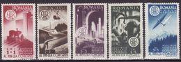 Romania 1947 Mi 1078 - 1082 ,MNH** - 1918-1948 Ferdinand, Carol II. & Mihai I.
