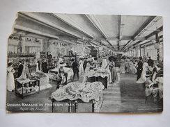 CPA - (75) - GRANDS MAGASINS DU PRINTEMPS PARIS - RAYON DES SOIERIES -  R7131 - Fashion