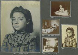 Lot De 17 Photos. Famille Daveau. - Personnes Identifiées