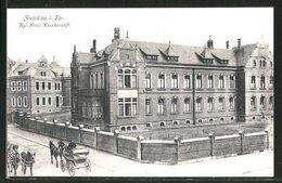 AK Zwickau I. Sa., Partie Am Kgl. Kreis-Krankenstift - Zwickau
