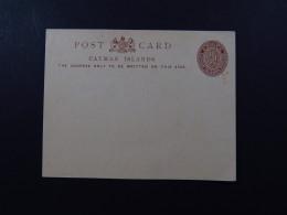 Postcard Cayman Islands Postage 1/4 D Unused - Postkaarten