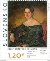 Slovakia - 2017 - ART - Jozef Božetech Klemens - Portrait Of Pani Juppová - Mint Stamp - Slovakia