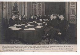 """LE GRAND MINISTERE NATIONAL -  """"  Dans Les Circonstances Présentes """" Etc...MM. Bérard, Guist'hau, Steeg, Poincaré Etc .. - Political Parties & Elections"""