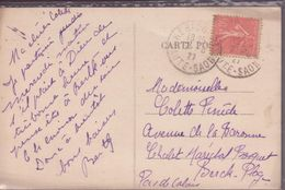 CPA CACHETS HERICOURT HTE SAONE ( HOPITAL D'HERICOURT VUE ENSEMBLE - Marcofilie (Brieven)