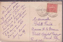 CPA CACHETS HERICOURT HTE SAONE ( HOPITAL D'HERICOURT VUE ENSEMBLE - Marcofilia (sobres)