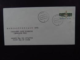 FDC Netherlands  First Day Of Issue Jachtslot Sint Hubertus Monumentenjaar 1975 Ede - Postzegels