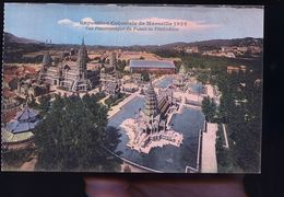 MARSEILLE EXPOSITION PUB BANANIA - Mostre Coloniali 1906 – 1922