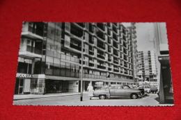 Zuid Holland Rotterdam Flats Rond De Lijnbaan 1958 + Auto - Rotterdam