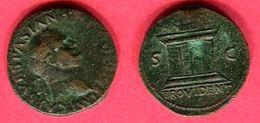 § VESPASIEN  AS '(C 697) TB 45 - 2. La Dinastia Flavia (69 / 96)