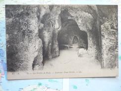 Les Grottes De Pasly Intérieur D'une Grotte - Soissons