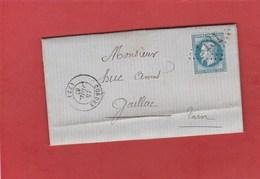 Tarn - Cordes - GC1131 Sur N°29 - LAC De Juillet 1867 - Marcophilie (Lettres)