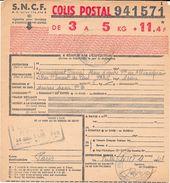 Document : Colis Postal. (Voir Commentaires) - 1900 – 1949