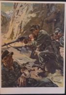GEBIRGSJAGER - MG NEST - MANDORFF - Weltkrieg 1939-45