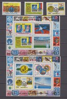 Uruguay 12.11.1976 Mi # 1433  Bl. 31-32 Montreal Summer Olympics, 1978 FIFA World Cup, Viking Mission MNH OG - Zomer 1976: Montreal