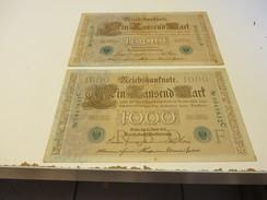 DEUTSCHLAND  Posten  REICHSBANKNOTEN - [ 4] 1933-1945 : Terzo  Reich
