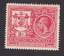 British Honduras, Scott #89, Mint Hinged, Seal Of The Colony And George V, Issued 1921 - British Honduras (...-1970)