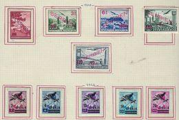 Serbie à La Page, Poste Aérienne - Serbie