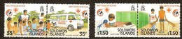 Salomon Solomon Islands 1989 Yvertn° 670-673 *** MNH Cote 5 Euro Rode Kruis Croix Rouge - Salomon (Iles 1978-...)
