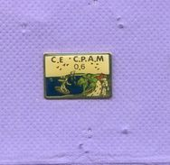 Rare Pins Ce Cpam 06 Surf H444 - Administrations