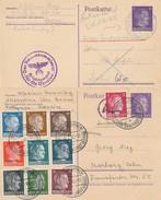 M-479: ALLEMAGNE:  Entiers (2)  Correspondance Philatélique 1942/43 - Covers & Documents