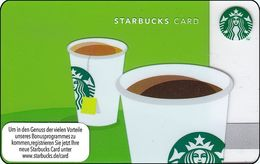 GERMANIA  GIFT CARD STARBUCKS Coffee And Tea STB-6097-2012 - Cartes Cadeaux