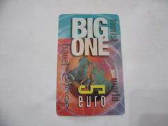 CARTA TELEFONICA PHONE CARD BIG ONE. - Schede Telefoniche