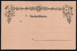 A7682 - Alte Saalpostkarte - Saalpost - Poste D Amour - Blanko - Tanz
