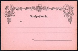 A7681 - Alte Saalpostkarte - Saalpost - Poste D Amour - Blanko - Tanz