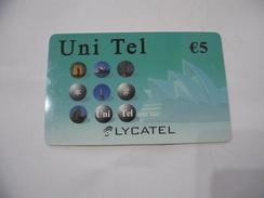 CARTA TELEFONICA PHONE CARD LYCATEL. - Schede Telefoniche