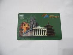 CARTA TELEFONICA PHONE CARD EUROPA TELECOMUNICAZIONI - Schede Telefoniche