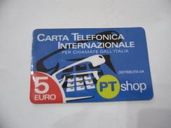 CARTA TELEFONICA PHONE CARD  PT SHOP. - Schede Telefoniche