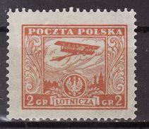 Poland 1925 Mi  225  Airmail MLH - 1919-1939 République