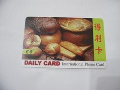CARTA TELEFONICA PHONE CARD  DAILY CARD - Schede Telefoniche
