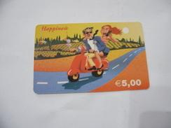CARTA TELEFONICA PHONE CARD  HAPPINESS. - Schede Telefoniche