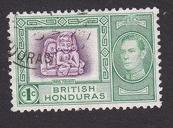 British Honduras, Scott #115, Used, Mayan Figures, Issued 1938 - British Honduras (...-1970)