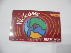 CARTA TELEFONICA PHONE CARD WELCOME TELECOM. - Schede Telefoniche