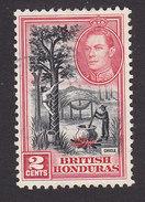 British Honduras, Scott #116, Used, Chicle Tapping, Issued 1938 - British Honduras (...-1970)