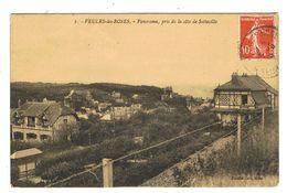 CPA 76 VEULES LES ROSES Panorama Pris De La Côte De Sotteville - Veules Les Roses