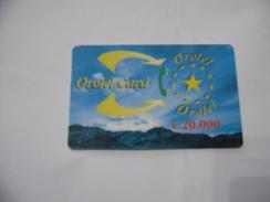 CARTA TELEFONICA PHONE CARD OROTEL CARD. - Schede Telefoniche