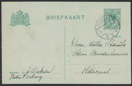 AU18     NEDERLAND * HANDGESCHREVEN BRIEFKAART * GELOPEN In 1920 Van TERBORG Naar OLDENZAAL - Postwaardestukken