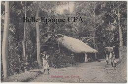 Sri Lanka / CEYLON - Sinhalese Hut +++++ Sans éditeur ++++ To Fredericksburg, PA, USA, 1907 +++++ - Sri Lanka (Ceylon)