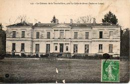 37. Le Chateau De Tourballiere, Près La Celle St Avant. état Moyen - France