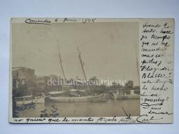 ARGENTINA CORRIENTES Ship Old Postcard Argentine - Argentina