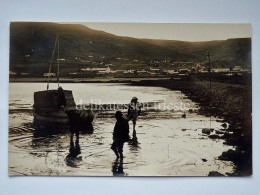 PERU' LAGO TITICACA PUNO Embarcaciones Fisherman Boat Old Postcard - Perù