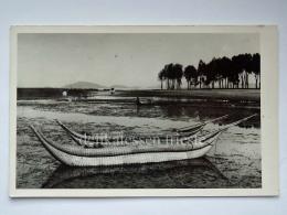 PERU' BOLIVIA LAGO TITICACA  Embarcaciones Fisherman Boat Old Postcard - Perù