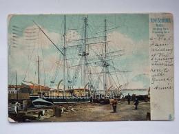 USA MASSACHUSETTS NEW BEDFORD Whaling Bark Ship Old Postcard - Stati Uniti