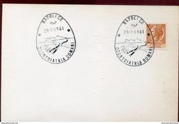 24744 Italia, Special Postmark 1981 Napoli  Odontoiatria, Dentistry, Dentisterie - Medicine