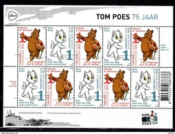 Nederland 2016 Nvph Nr 3426 + 3427; Mi Nr 3483 + 3484  Tom Poes En Olivier B. Bommel, Strip, Sheet, Postfris - Neufs