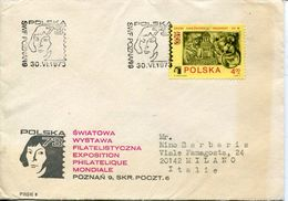 27879 Sweden, Special Postmark 1973  Copernic,  Copenicus,  Kopernic - Astronomùia